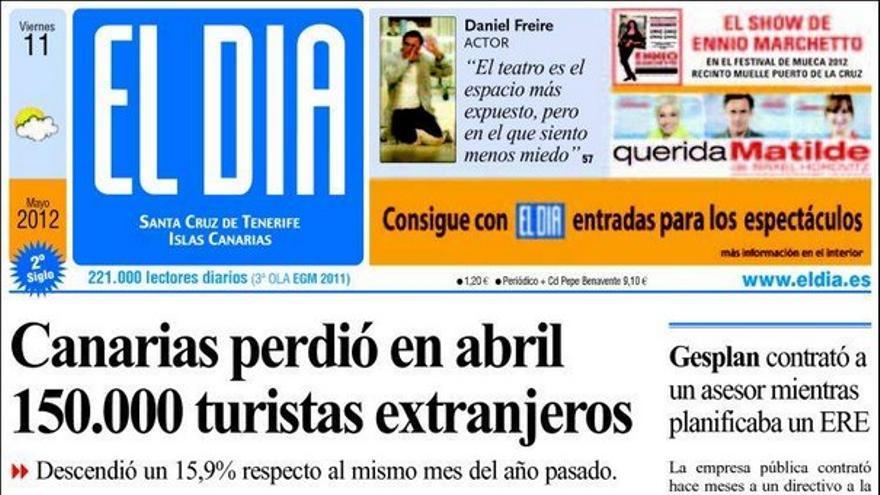 De las portadas del día (11/05/2012) #3