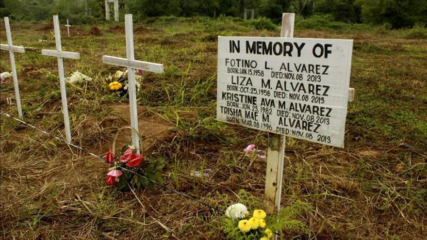 Las heridas ocultas de los filipinos un año después del tifón Haiyan