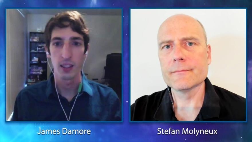 James Damore y Stefan Molyneux