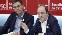 El PSC insiste en abanderar la vía del diálogo pese a la dureza de Sánchez con Torra