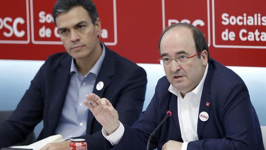 Sánchez e Iceta protagonizan hoy el Comité Federal del PSOE, que avalará el artículo 155