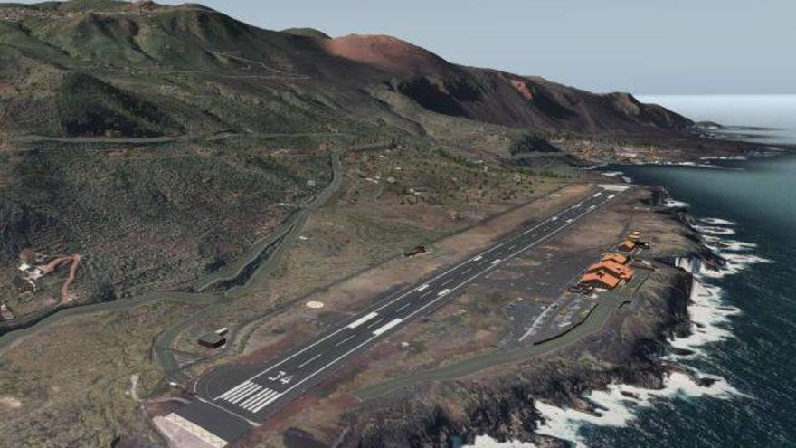 Pista aeropuerto el hierro