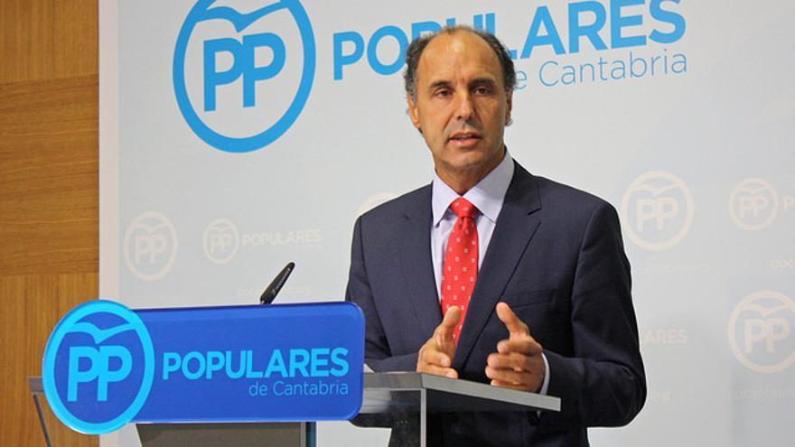 Ignacio Diego, presidente del PP en Cantabria.