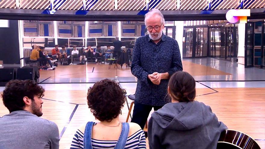 Pancho Varona visita 'OT'