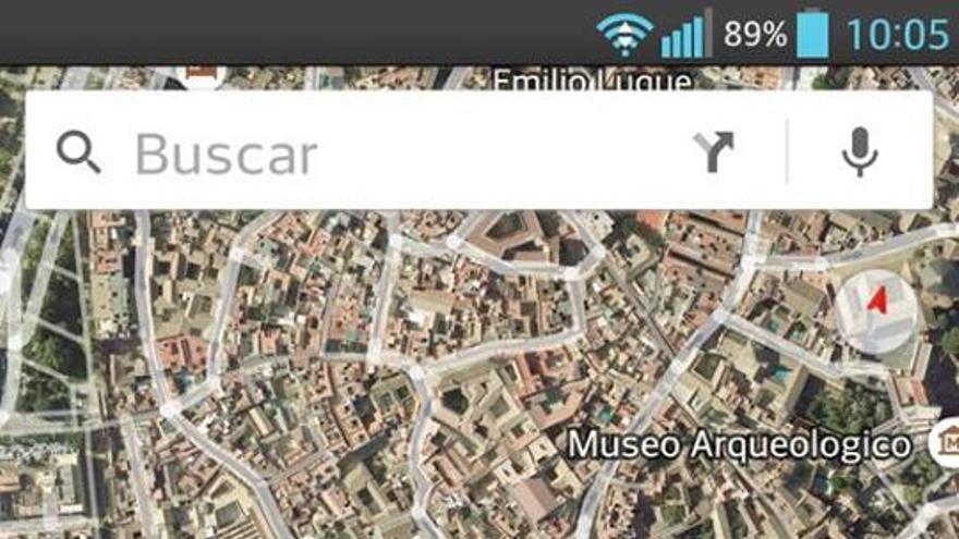 Mezquita de Córdoba en Google Maps