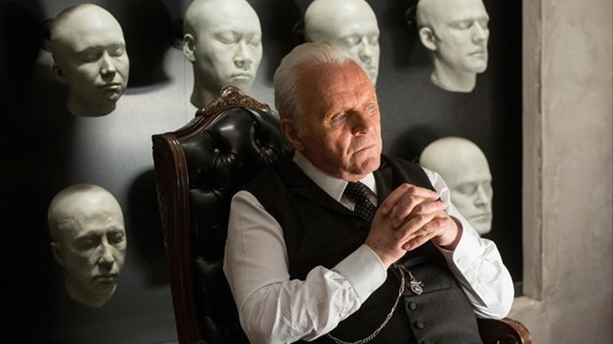 Anthony Hopkins en 'Westworld'
