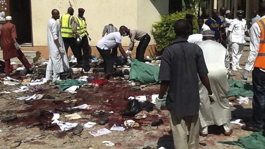 Dos civiles muertos y 15 heridos en un atentado contra un mercado en Nigeria