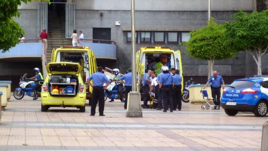Del accidente de la Policía Local #5