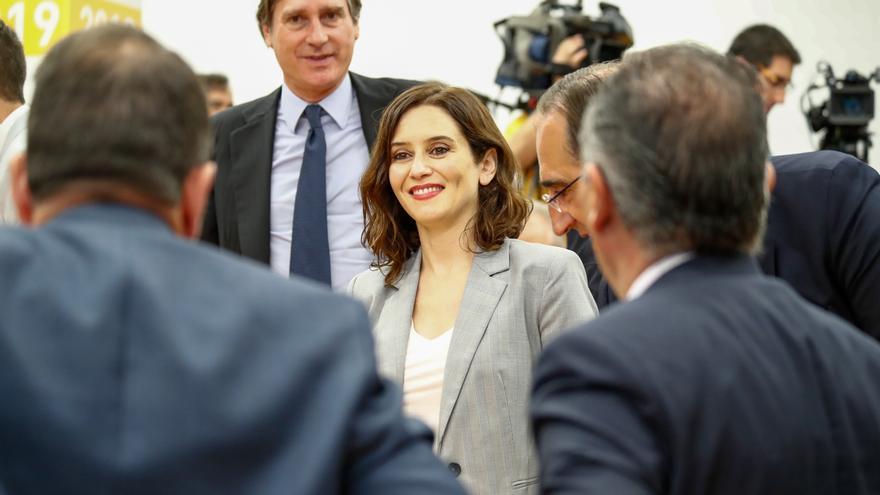 """Díaz Ayuso (PP) analizará el documento de medidas que presentará Vox e intentará """"buscar un entendimiento"""""""