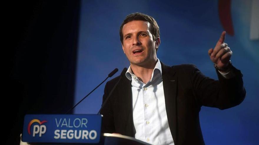 Casado presenta este lunes en Barcelona el programa electoral del PP