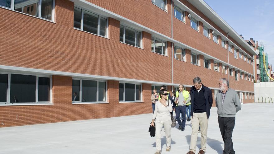 El traslado al nuevo instituto se realizará durante las vacaciones de Navidad.   Tania Molinero