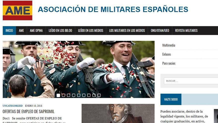 Página web de la AME