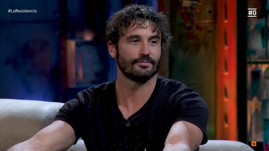 Álex García en 'La Resistencia'