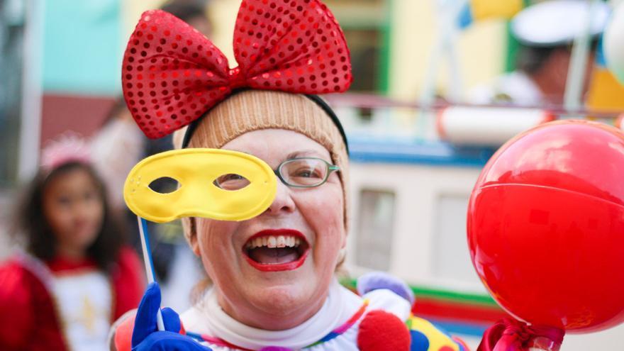 Instante del último desfile del carnaval de San Sebastián de 2014