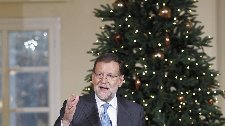 """Rajoy celebra la bajada del paro, que sigue siendo """"el mayor objetivo nacional"""""""