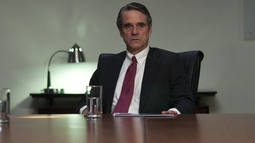 Jeremy Irons en Margin Call