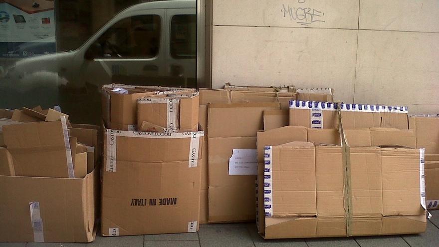 La recogida de papel cartón comercial crece un 25% hasta agosto