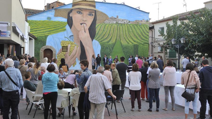Salas Bajas: un lienzo de 90 metros cuadrados para una localidad ...