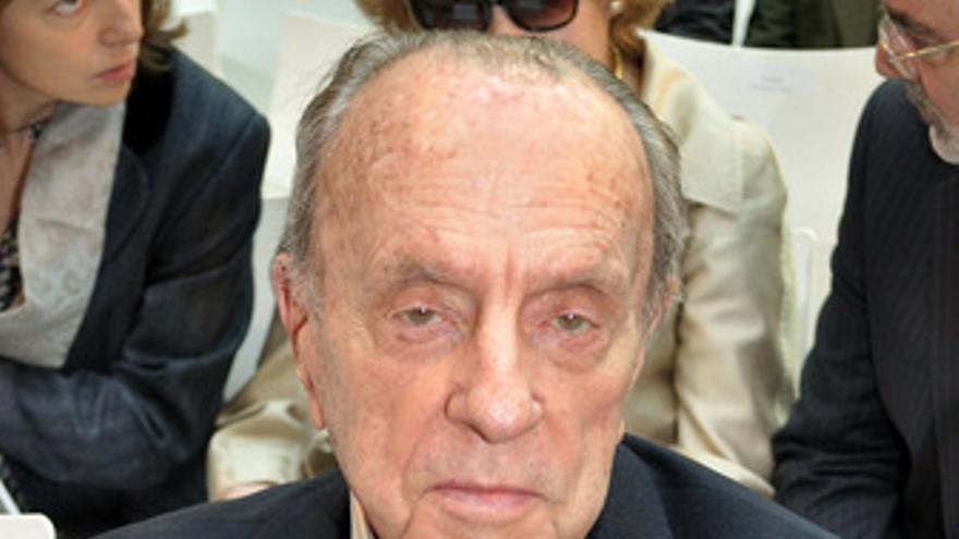 Presidente fundador del Partido Popular, Manuel Fraga