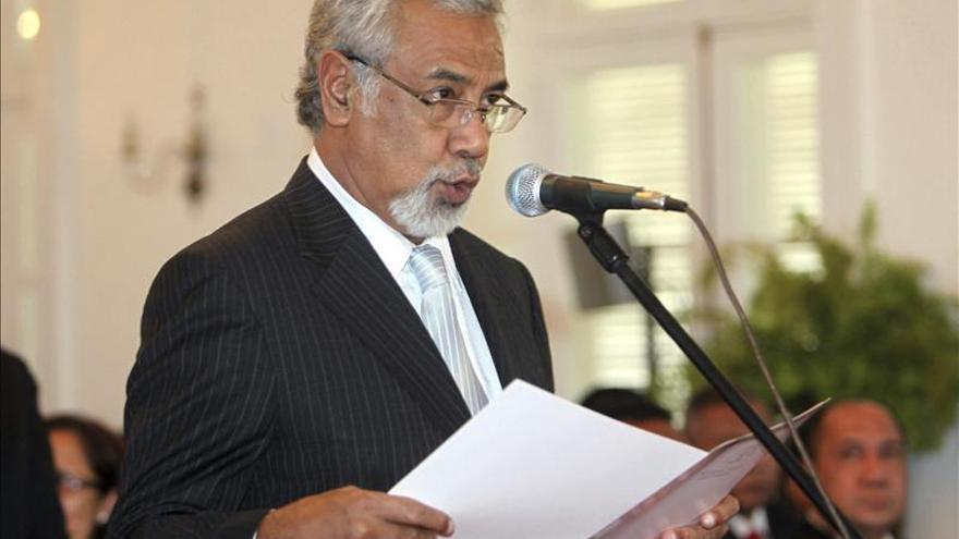 El primer ministro de Timor, Xanana Gusmao, dejará el cargo en septiembre