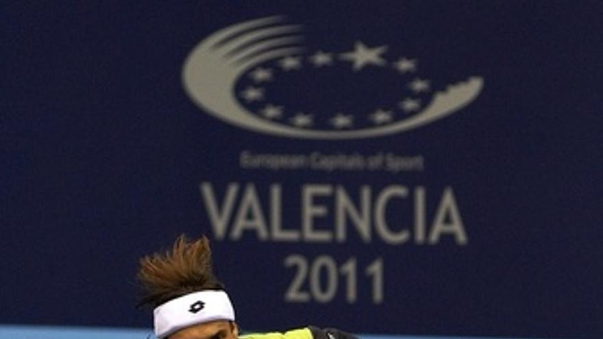 David Ferrer En El Torneo De Valencia