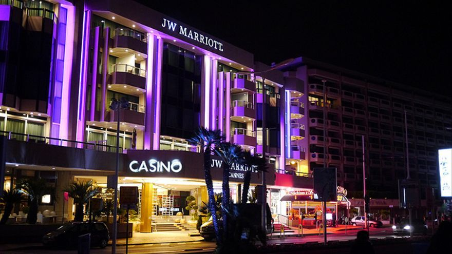 El hotel JW Marriott de Cannes