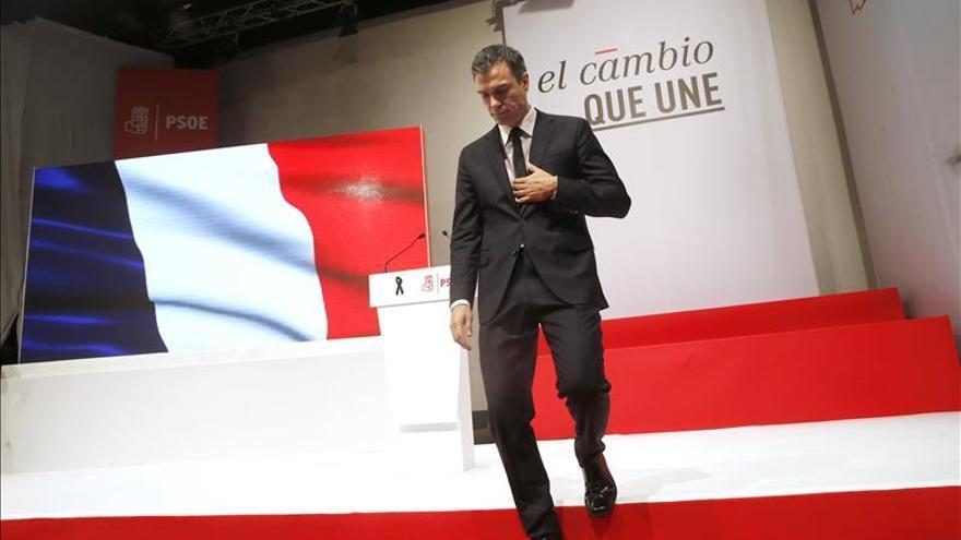 Sánchez emplaza a todos los partidos a sumarse al pacto antiyihadista