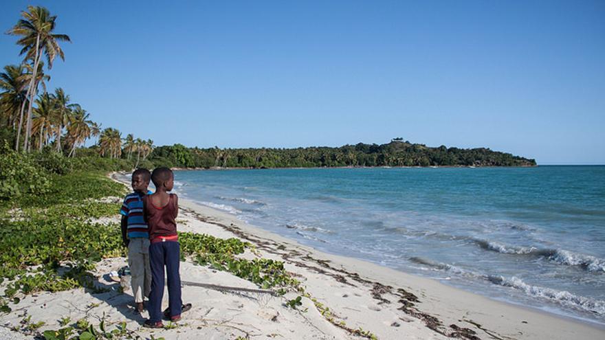 Playas inexporadas en Île-à-Vache/ Iolanda Fresnillo