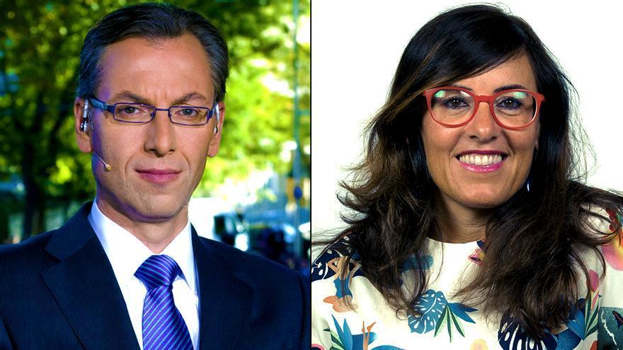 Luis Lianes y Mónica Agudo, nuevos jefes en informativos de TVE
