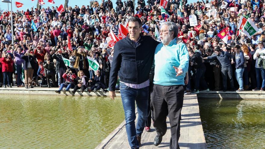 Los 'sanchistas' pedirán cuota en el Comité Director de PSOE-A y dejan manos libres a Susana Díaz para la Ejecutiva
