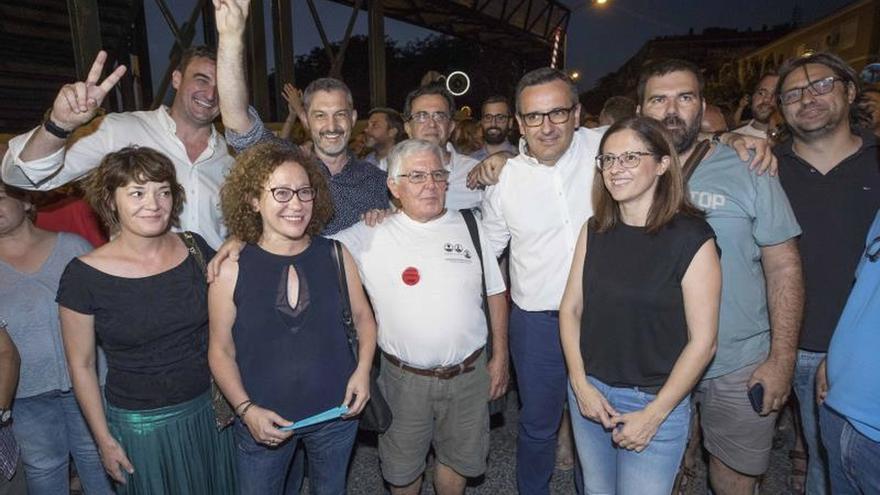 Un año de protestas para exigir el soterramiento del AVE en Murcia