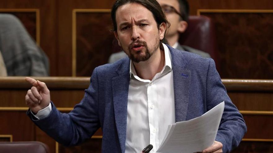 Iglesias y Garzón intentan frenar tensiones internas por la crisis en Madrid