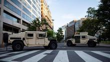 Las protestas vuelven al centro de Washington sin poder llegar a la Casa Blanca
