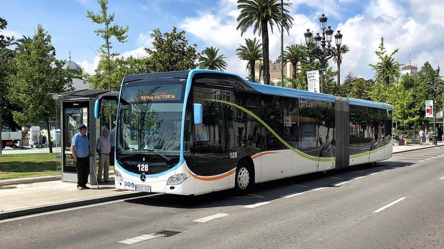 Autobús urbano de Santander.