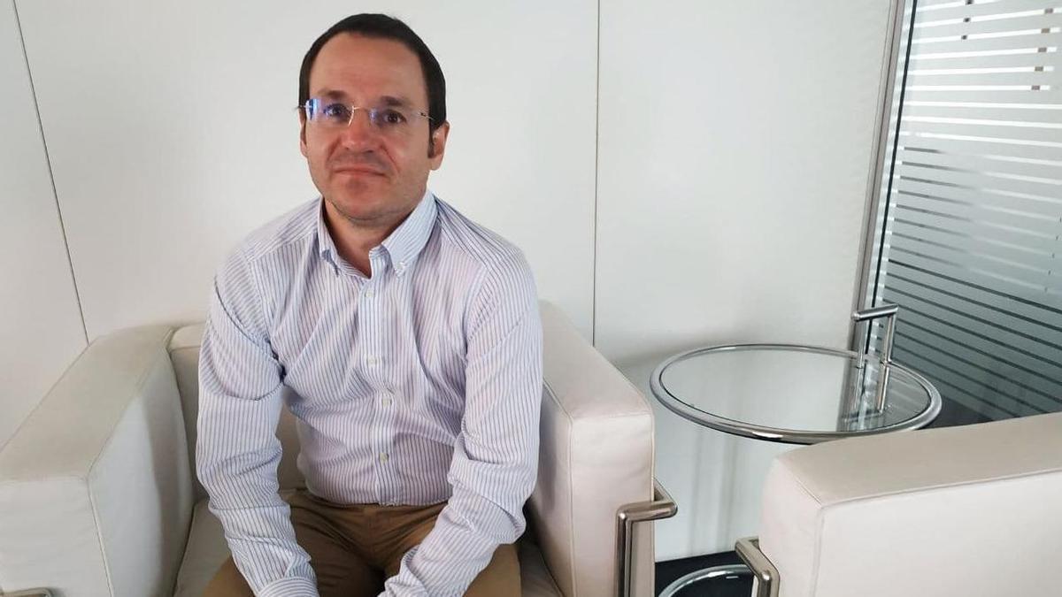 Daniel Alvear, director general de Industria del Gobierno de Cantabria.