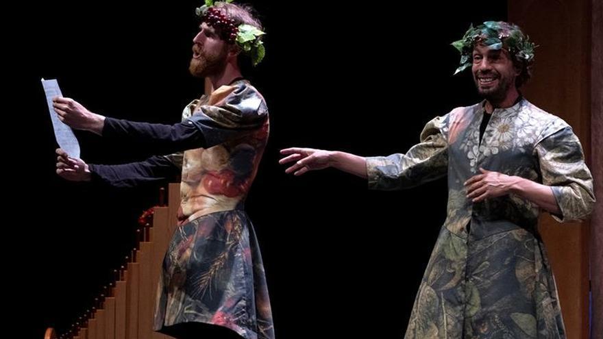 'Comedia Aquilana' lleva a Niebla esteticismo del teatro amoroso renacentista