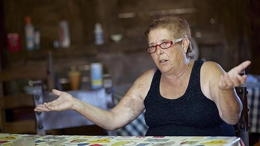 La conocida como 'abuela de Fuerteventura' Josefa Hernández. Efe