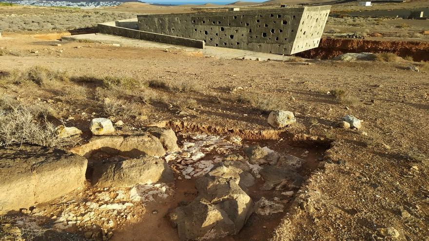 El yacimiento de Zonzamas en Lanzarote, en la lista roja por riesgo de desaparecer