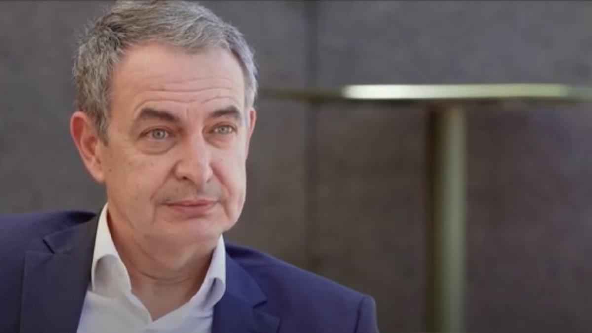 El expresidente del Gobierno, José Luis Rodríguez Zapatero. Fotograma del ´Trópico Distópico'