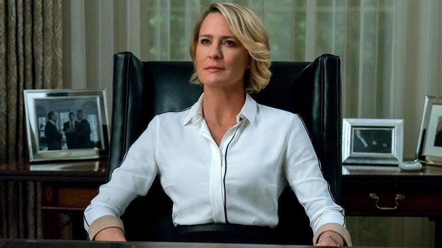 Netflix confirma la temporada final de House of Cards: más corta, sin Kevin Spacey y centrada en Robin Wright