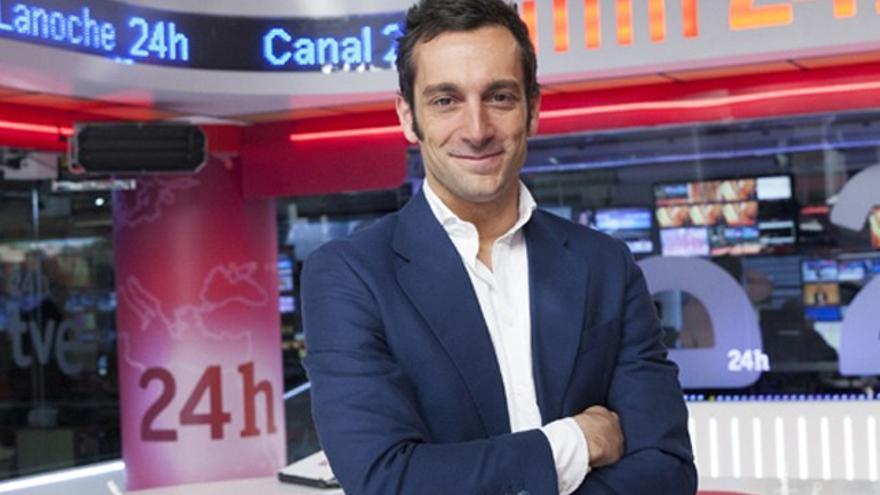 Canal 24 Horas publica las fotos de posado de Álvaro Zancajo