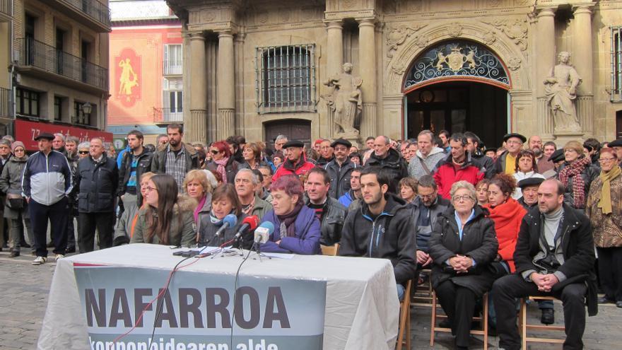 Representantes de EH Bildu y sindicatos piden la libertad de los detenidos en la operación del frente de cárceles de ETA