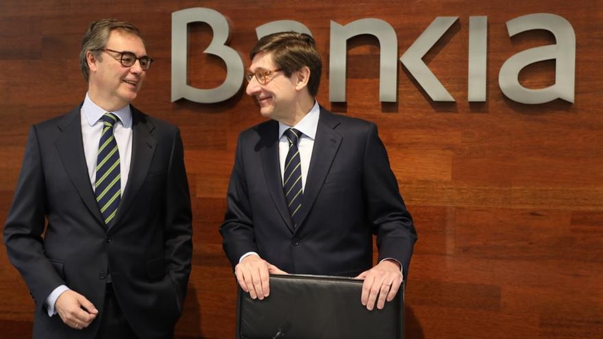 """Goirigolzarri aleja los rumores de fusionar Bankia: """"No hay operación encima de la mesa ni sobrevolándola"""""""