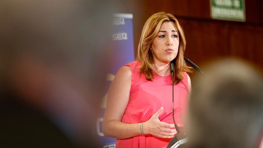 Susana Díaz: Andalucía lidera la bajada del paro en España en el último año con 160.800 desempleados menos