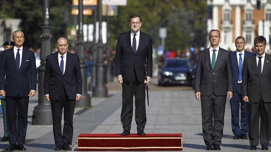 """Rajoy: """"hay muchas formas de sentirse español y todas se basan en el respeto a la ley"""""""
