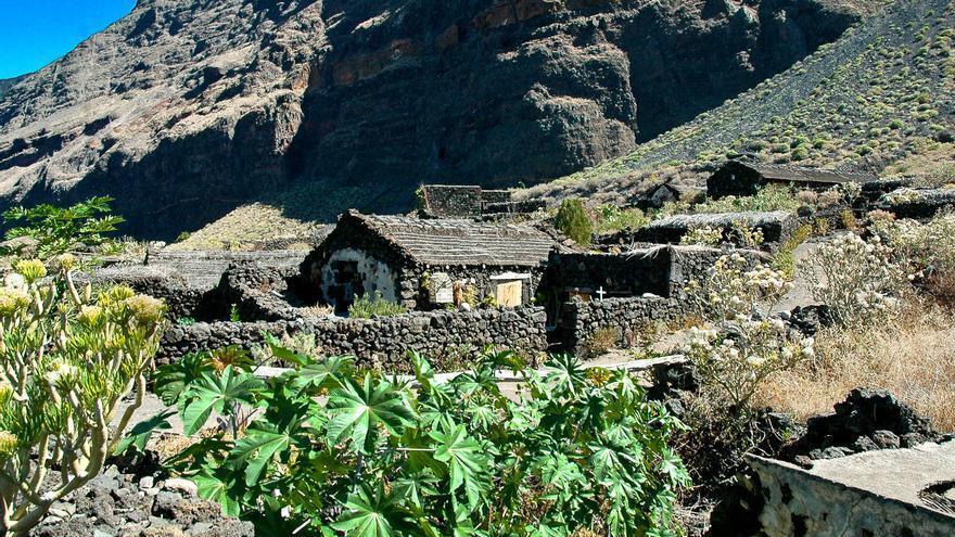 Casas y huertos del Ecomuseo de Guinea, en La Frontera (El Hierro). VIAJAR AHORA