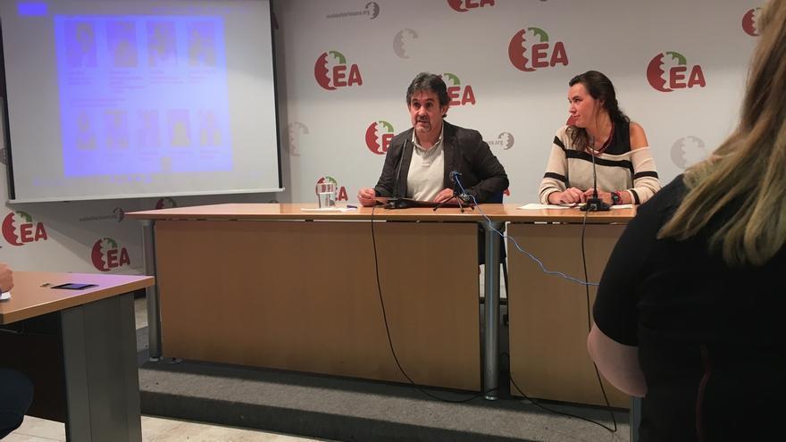 """Urizar (EA) acusa al PNV de """"mirar a España"""" en lugar de trabajar por la """"liberación"""" de Euskadi"""