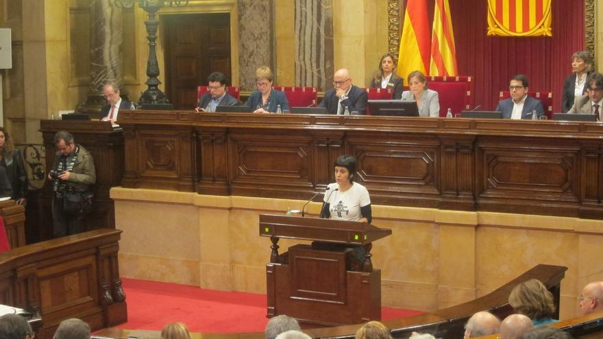 """Gabriel (CUP) propugna la """"ruptura democrática"""" y el primer paso hacia la república catalana"""