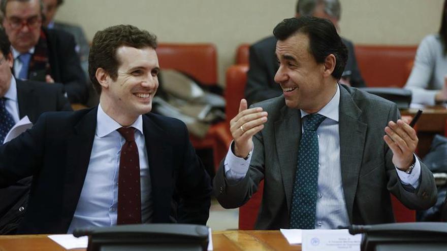 Maillo y Casado van a la Asamblea de Ciudadanos el domingo representando al PP