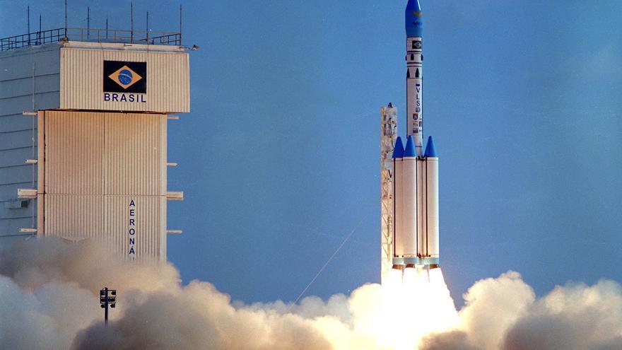 Lanzamiento de un cohete desde la base espacial de Alcántara (Brasil) / AEB